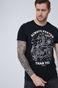 T-shirt męski z bawełny organicznej by Tomek Pieńczak, Grafika Polska biały