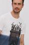 T-shirt męski by Dawid Bacewicz, Grafika Polska biały