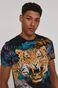 T-shirt męski Summer Vibes czarny