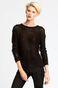 Sweter Iconic czarny
