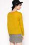 Sweter Work In Progress żółty