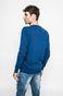 Sweter Graphic Monochrome niebieski