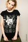 Top by Basquiat czarny