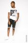 T-shirt Jean-Michel Basquiat biały