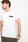 T-shirt Let's Rebel biały