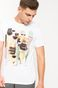 T-shirt by Karol Banach biały