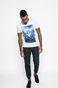 T-shirt North Storm niebieski