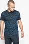 T-shirt męski Human Nature granatowy
