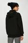 Bluza damska czarna z kapturem