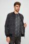 Bluza męska czarna melanżowa rozpinana