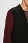 Bluza męska zapinana na suwak czarna z fakturą