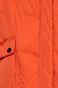Kurtka damska pomarańczowa z podwyższonym kołnierzem