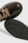 Buty męskie brązowe skórzane
