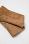 Rękawiczki skórzane damskie brązowe
