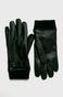 Rękawiczki skórzane męskie czarne ze skóry naturalnej