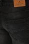 Jeansy męskie regular czarne