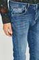 Jeansy męskie w fasonie tapered niebieskie