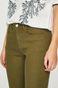 Spodnie damskie skinny zielone