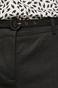 Spodnie damskie czarne o prostym kroju