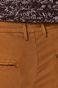 Spodnie męskie brązowe o prostym fasonie