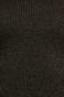 Sweter damski czarny z ozdobną wstawką na plecach