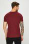 T-shirt męski gładki brązowy