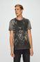 T-shirt męski by Dark Ashes, Halloween szary