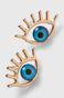Kolczyki damskie w kształcie oka
