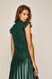 Bluzka damska koronkowa zielona