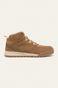Buty skórzane męskie beżowe