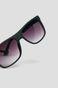 Okulary przeciwsłoneczne męskie w prostokątnej oprawie granatowe