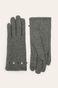 Rękawiczki damskie wełniane szare