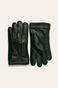 Rękawiczki męskie skórzane czarne