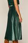 Spódnica damska plisowana zielona