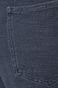 Spodnie damskie wiązane w talii granatowe