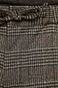 Spodnie męskie ściągane troczkami szare