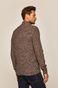 Sweter męski z półgolfem brązowy