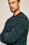 Sweter męski turkusowy