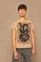 T-shirt damski T-shirt by Weronika Kolinska kremowy
