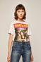 T-shirt damski Movies biały