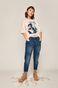 T-shirt damski MOVIES różowy