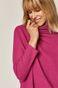Bluza damska z półgolfem różowa