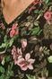 Bluza bawełniana damska z motywem roślinnym