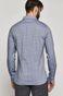 Koszula bawełniana męska wzorzysta niebieska