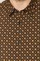 Koszula męska slim bawełniana wzorzysta granatowa