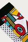 Skarpetki damskie abstrakcja  (2-PACK)