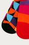 Skarpetki damskie w geometryczne wzory (2-pack)