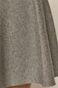 Spódnica damska z gładkiej dzianiny szara