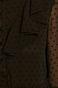Sukienka damska z tkaniny plumeti czarna
