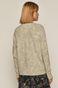 Sweter damski ażurowy turkusowy